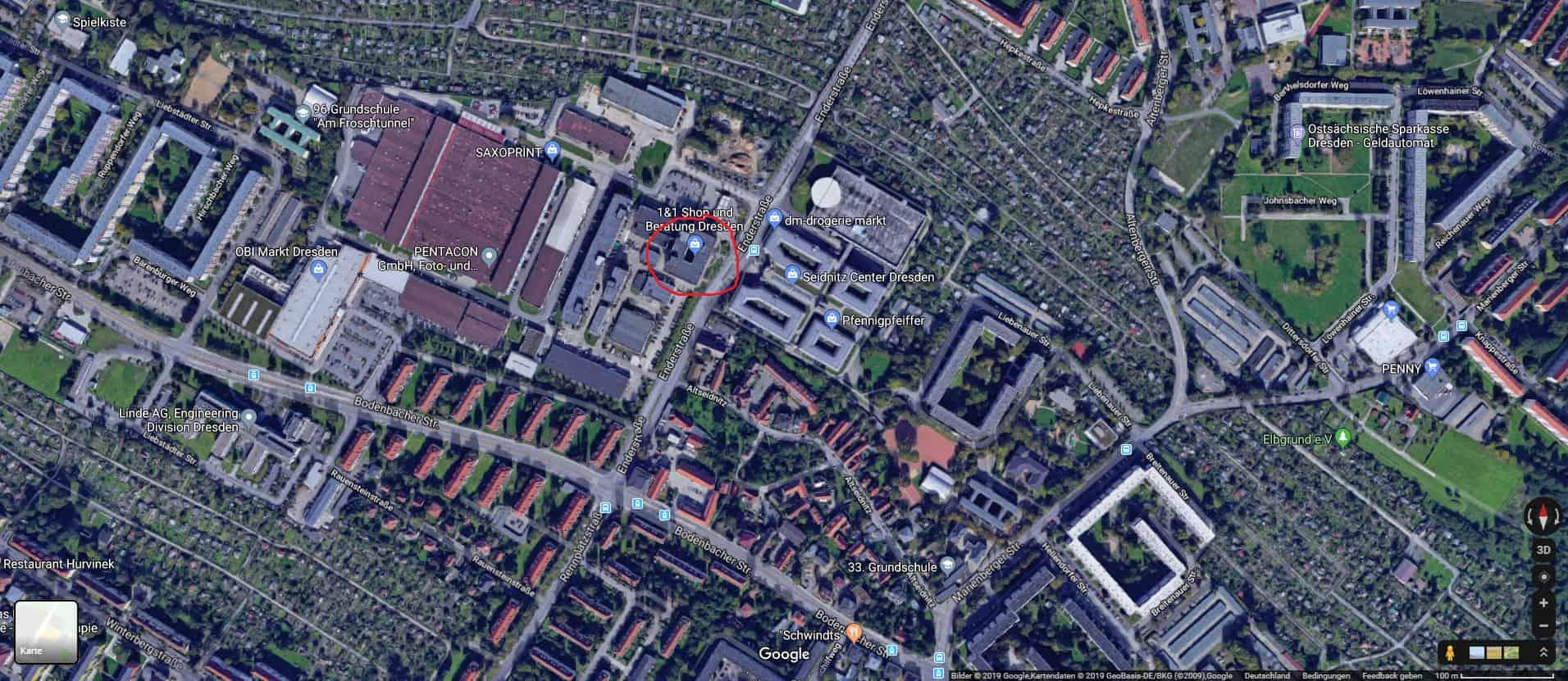 Google Maps Beschreibung